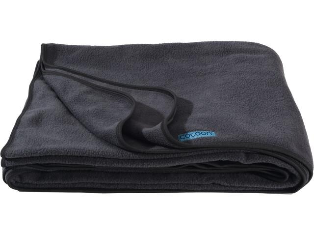 Cocoon Fleece Blanket, charcoal